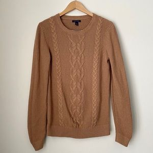 Cable Knit Brown Sweater Tommy Hilfiger